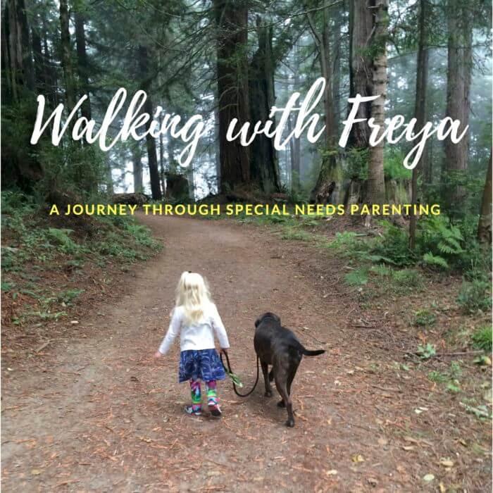 Walking with Freya