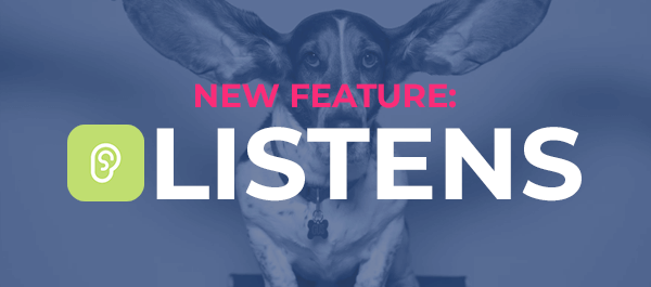 Introducing Podchaser's Newest Feature: Listens