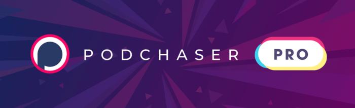 Podchaser Pro logo - Podcast PR and Media Buying Tool